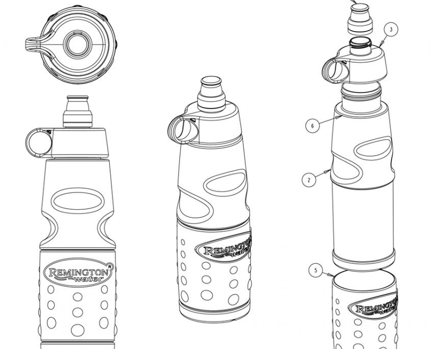 Remington Sport Bottle
