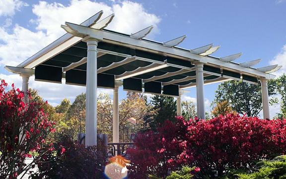 Shadetree Canopies Pergola Retractable Shade